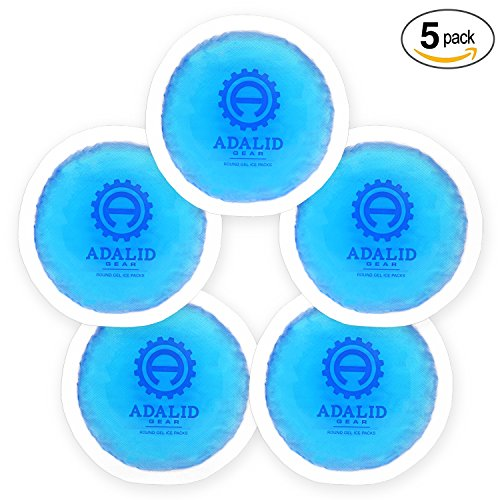 Boo Boo 2 Pack for Fever Cooling Bumps Small Joints Injuries Kids Gel Ice Packs First Aid Hot Cold Compress for Baby Kids Child Reusable Injection Pain and More