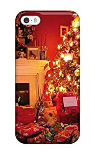 High-end Case Cover Protector For Iphone 5/5s(christmas Scene)