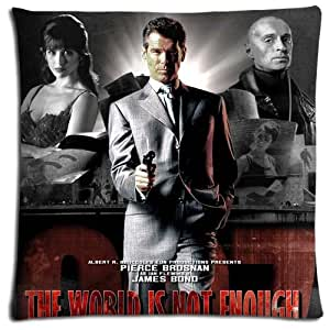 16x16inch 40x40cm bench pillow protector case Polyester / Cotton softer ease GoldenEye
