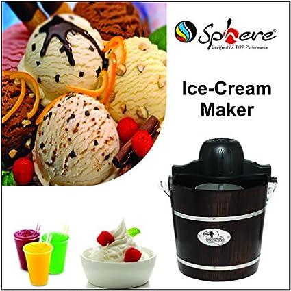 Sphere HM-6508 250-Watt Ice Cream Maker (Brown)