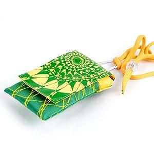 NFE² jugendliches Lino funda verde–amarillo para Samsung Ativ S