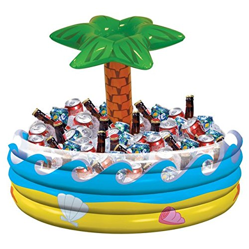 Amscan Palm Tree Inflatable Cooler -