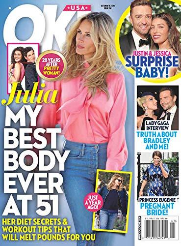 OK USA Magazine (October 8, 2018) Julia Roberts Cover