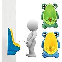 Tinffy - Orinal Vertical para niños y bebés, Soporte de Pared para Orinal y Asientos