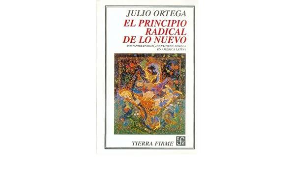 El principio radical de lo nuevo : Postmodernidad, identidad y novela en América Latina (Coleccion Tierra Firme) (Spanish Edition) (Spanish) Paperback ...