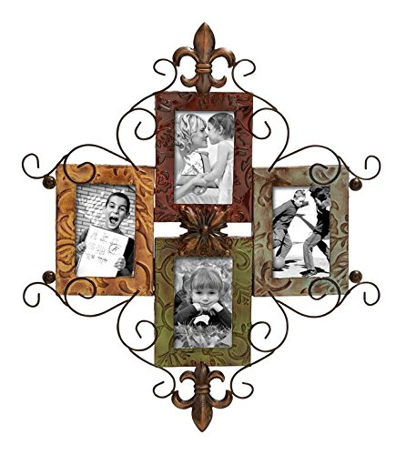 Deco 79 53831 Metal Photo Frame (Metal Picture Frames compare prices)