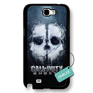 Call of Duty Ghosts Black Hard Plastic For Case Iphone 4/4S Cover & Cover - Black 1