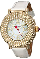 Betsey Johnson Women's BJ00219-02 Gold Watch