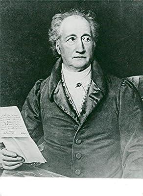 Amazoncom Vintage Photo Of Johann Wolfgang Von Goethe