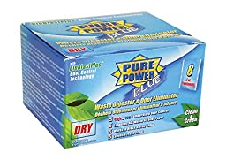 Valterra V23021 Blue Pure Power Dry Drop Ins, (Pack of 8)