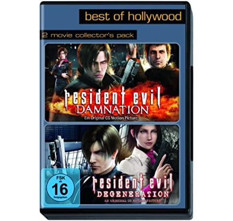 Best of Hollywood - 2 Movie Collectors Pack: Resident Evil: Damnation / Degeneration Alemania DVD: Amazon.es: Makoto Kamiya: Cine y Series TV