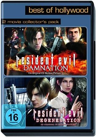 Best of Hollywood - 2 Movie Collectors Pack: Resident Evil: Damnation / Degeneration Alemania DVD: Amazon.es: Makoto Kamiya: Cine y Series TV