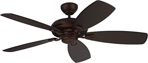 Monte Carlo 5DM52RB Designer Max Dual Mount Energy Star 52″ Ceiling Fan