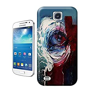 Unique Phone Case Graffiti This sad eye seems to have roots for eyelashes in this abstract painting by Shann Larsson 643x635 Hard Cover for samsung galaxy s4 cases-buythecase