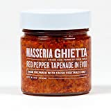 Masseria Ghietta Red Pepper Tapenade, 8.11 Ounce