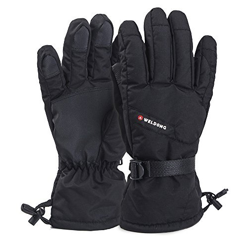 O'Brighton Waterproof Windproof Men's Winter Thinsulate Thermal Warm Snow Skiing Snowboarding Snowmobile Ski Gloves, X-Large
