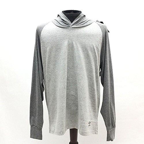 Umbro Long Sleeve Crew Neck Raglan Hoodie - Light Grey (Umbro Long Sleeve)