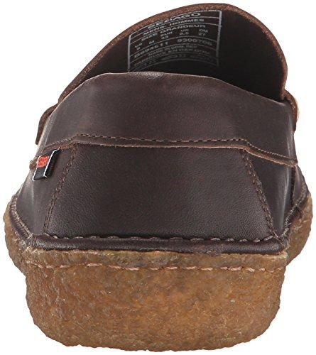 Sebago Heren Ronan Penny Slip-on Loafer Donkerbruin Leer