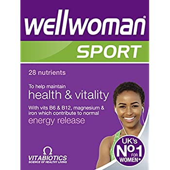 Amazon.com: Wellwoman Sport And Fitness - 30 tabletas ...