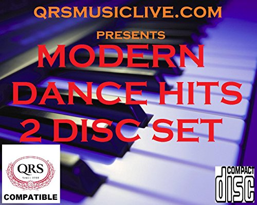 MODERN DANCE HITS ( 2 DISC SET) - QRS PIANOMATION Compatible Player Piano CD