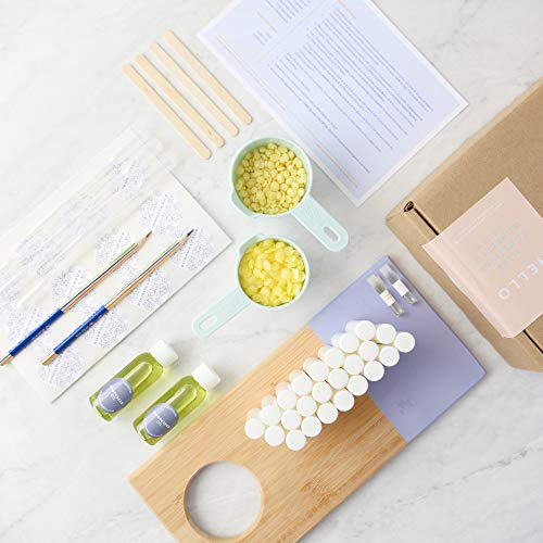 Cocoa Butter Lip Balm DIY Kit, Makes 24 Nourishing Lip Balms with EVERYTHING You Need