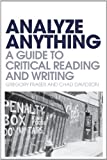 Analyze Anything, Gregory Fraser and Chad Davidson, 144115406X