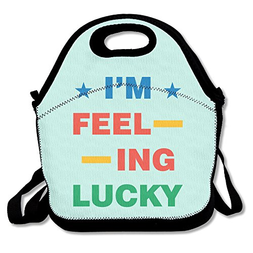 HJZN SUGER I'm Feeling Lucky Tote Bag Multifunction Waterproof Handbag Lunch - Googles Gucci