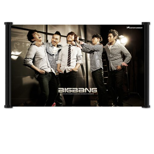 Big Bang Kpop Fabric Wall Scroll Poster