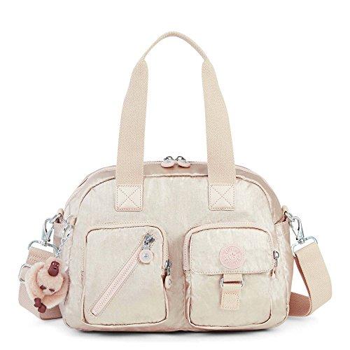 Kipling Women's Defea Metallic Handbag One Size Sparkly Gold