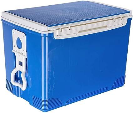 Wyyggnb Caja fría, Cofre de Hielo Compacto Caja de Enfriador ...