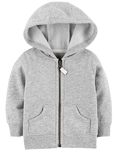 Carter's Baby Boy Zip-Up Hoodie (3 Months)