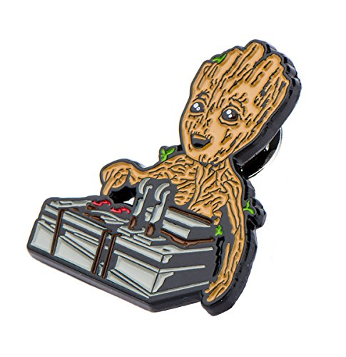 The Collector Guardians Of The Galaxy Costume (Guardians of the Galaxy Baby Groot & Bomb Enamel Collector Pin, Toynk Exclusive)