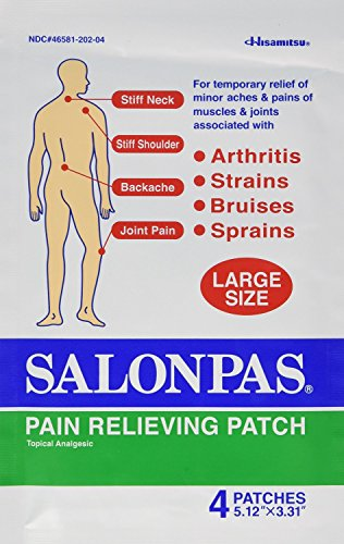 EMERSON HEALTHCARE Salonpas Pain Relief Patches, Large, 32 (Emerson Wrap)