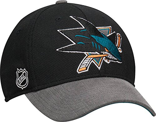 Reebok San Jose Sharks Playoffs Flex Hat - S/M - M433Z