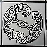 Huginn & Muninn Odins Crow Vinyl Decal