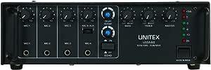 مكبر صوت من يونيتكس USSA-60 - أسود