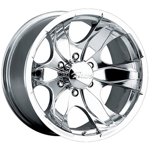 Pacer 187P WARRIOR Wheel with Polished Finish (17x8