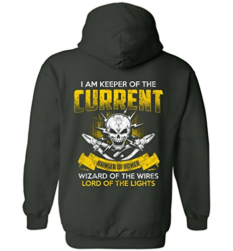 eden tee Funny Electrician Electrical Engineer Lineman Hoodie by eden tee