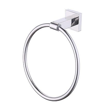 Amazon.com: KES a2280 – Toallero de anilla Wall Mount, acero ...