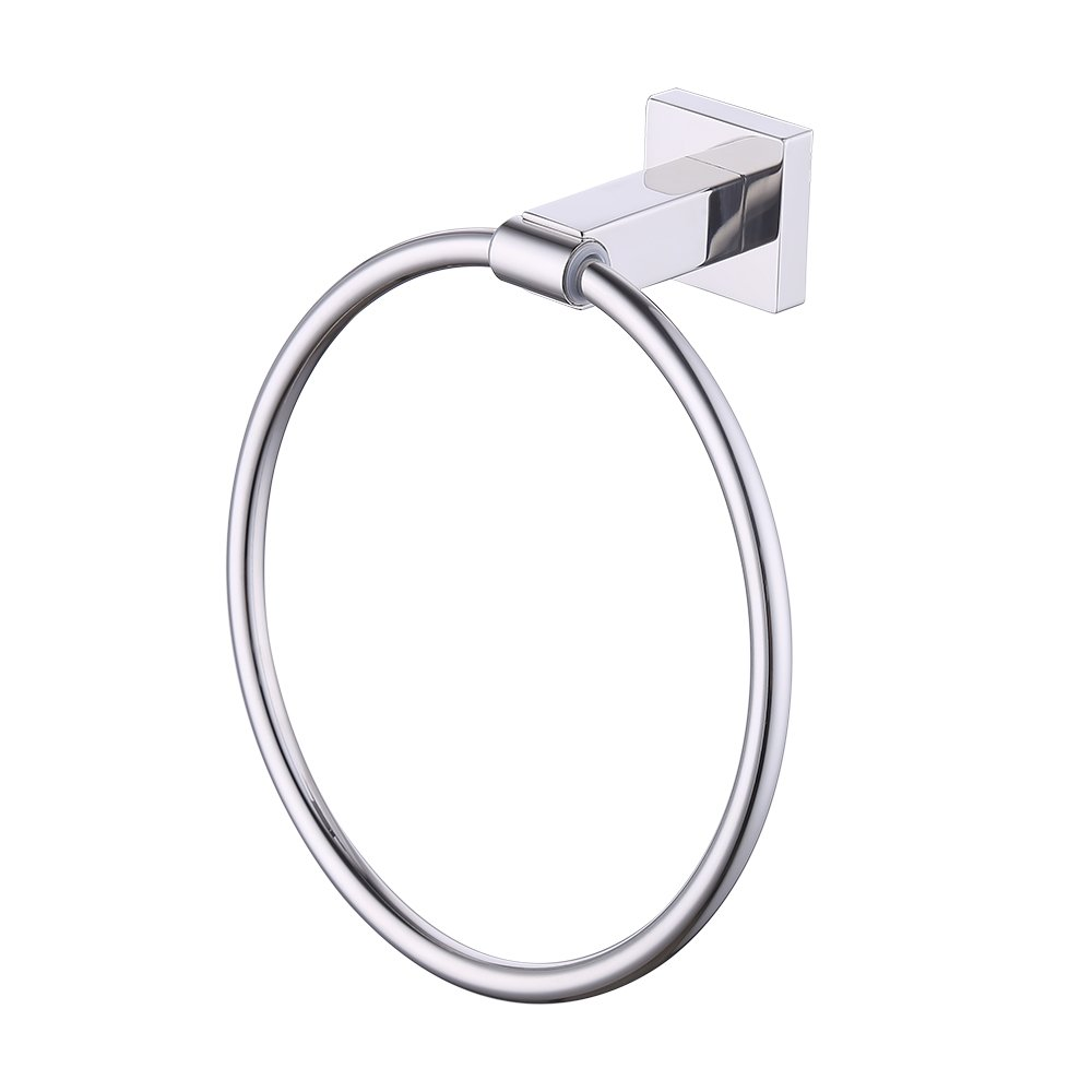 KES Towel Ring, Towel Holder for Bathroom SUS 304 Stainless Steel Wall Mount, Polished, A2280