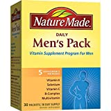 Nature Made Daily Men's Pack Vitamin Supplement Program