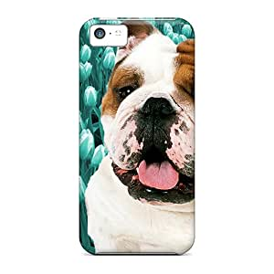 Iphone Cases - Cases Protective For Iphone 5c- Flower Dog