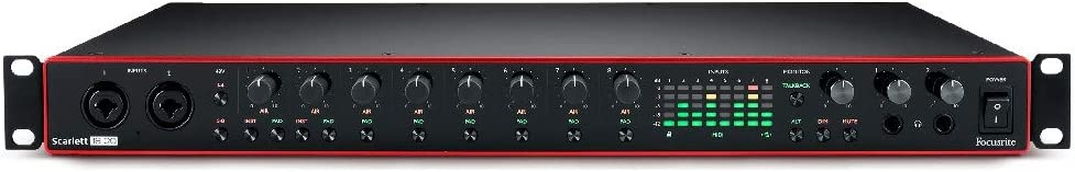 Focusrite Scarlett 18i20 (3rd Gen) USB Audio Interface with Pro Tools | First
