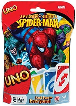 Juego de Cartas Uno, Sentido arácnido de Spiderman de Marvel ...