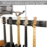 String Swing 5 Guitar Hanger Black Vein