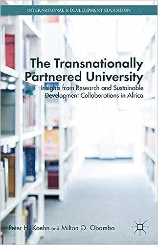 Descargar U Torrents The Transnationally Partnered University Epub O Mobi