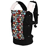 Bebamour Cotton Baby Carrier Backpack 2 Designs Soft Carriers With Hood(circle)
