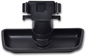 A ABIGAIL Multi-Mount Dash Phone Holder with Storage Box for Cell Phones Mini Tablets fits 2011-2017 Jeep Wrangler JK