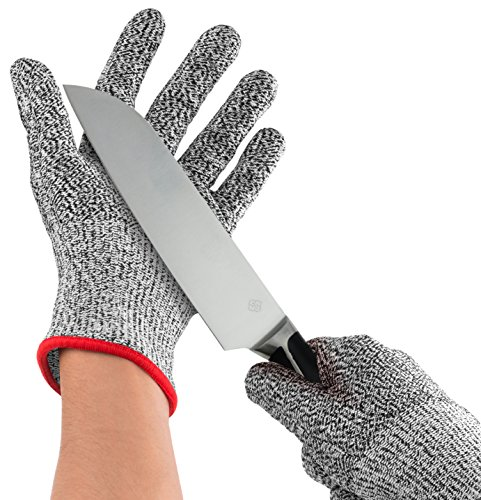 Nuovoware Cut Resistant Gloves, High Performance Food Grade