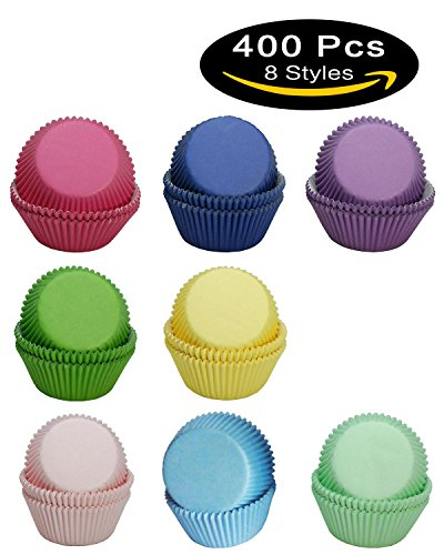 purple and yellow cupcake liners - 9